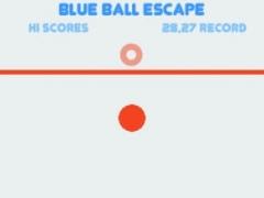 Blue Ball Escape 1.1 Screenshot