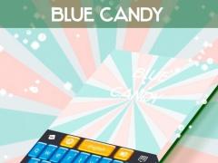 Blue Candy GO Keyboard 4.172.54.80 Screenshot
