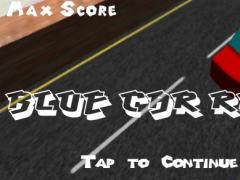 Blue Car Race 1.0 Screenshot