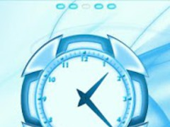 Blue Chill Go Launcher Ex 1.1 Screenshot