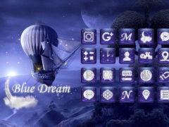 Blue Dream Launcher theme 1.0 Screenshot