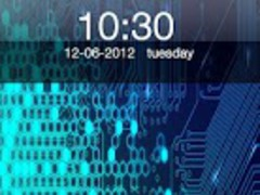 Blue Electronic Chip Locker 2.2 Screenshot
