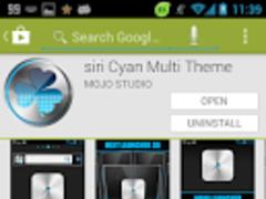 blue Fusion GO Keyboard 1.2 Screenshot