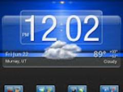 Blue Gloss Theme 3.00 Screenshot
