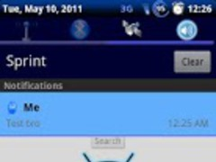 Blue Honeycomb Theme Chooser 1.8 Screenshot
