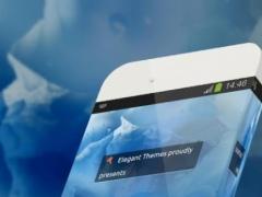 Blue iceberg TouchPal 2.0 Screenshot
