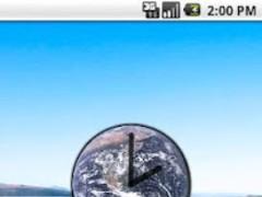 Blue Marble Clock 1.1.0 Screenshot