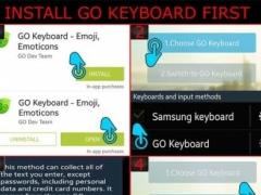 Blue Neon Keyboard 1.2 Screenshot