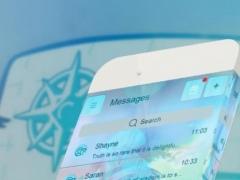 Blue pirate GO SMS 1.2 Screenshot