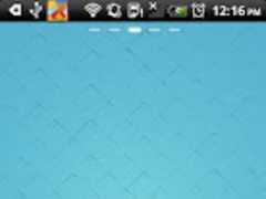 Blue Plaid Theme Go Launcher 1.0 Screenshot
