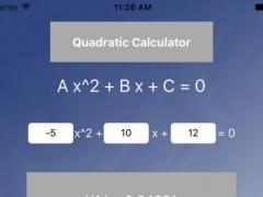 Blue Quadratic Solver 3.0 Screenshot