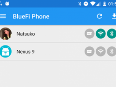 BlueFi Phone  Screenshot