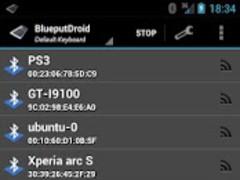 BlueputDroid 1.5.0 Screenshot