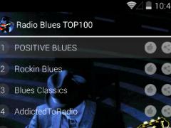 BLUES MUSIC | 100 RADIO 1.0 Screenshot