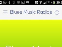 Blues music Radios 2.0 Screenshot