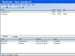 BlueSender 2.5 Screenshot
