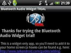 Bluetooth Audio Widget TRIAL 1.32 Screenshot