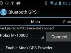 Bluetooth GPS  Screenshot