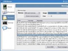 Bluetooth GSM Phone Manager  Screenshot
