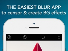 Blur Photo Effect - Touch to Edit Image Background, Hide or Censor Face with Blurred, Mosaic & Pixelated Filters 1.14.0 Screenshot
