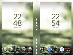 Blurry Rocks XZ Xperien Theme 1.0.1 Screenshot