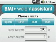 BMI calculator plus. 2.2 Screenshot