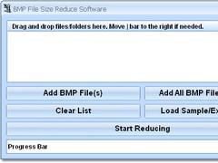 BMP File Size Reduce Software 7.0 Screenshot