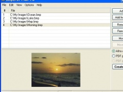 Bmp2PDF Pilot 1.00 Screenshot