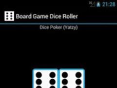 Board Game Dice Roller 2.5 Screenshot