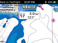 Boating São Sebastião to Salvador - Brazil - gps offline nautical charts for cruising fishing sailing and diving 1.0 Screenshot