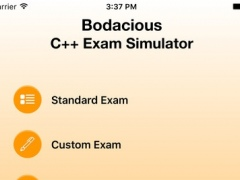 Bodacious C++ Exam Simulator 1.0 Screenshot