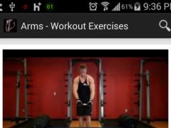 Body Building Exercises 1.1 Screenshot