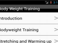 Body Weight Training (Workout) 1.0 Screenshot