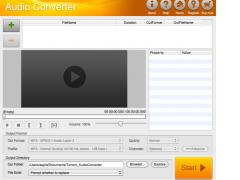 Boilsoft Audio Converter for Mac 1.01 Screenshot