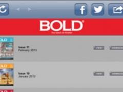 Bold Magazine 2.0 Screenshot