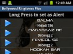 Bollywood Ringtones Plus 1.0 Screenshot