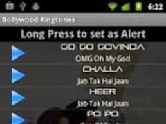 Bollywood Upcoming Ringtones 1.0 Screenshot