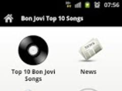 Bon Jovi Top 10 Songs 3.0 Screenshot