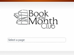 Book of the Month Club 0.1 Screenshot