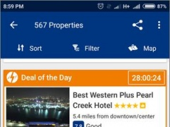 Review Screenshot - Making Online Booking of Hotels and Properties Easier for Everyone
