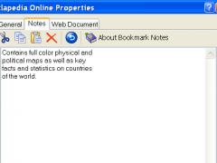 Bookmark Notes 2.01 Screenshot