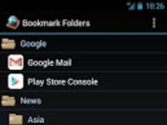 Bookmark Tree Manager 2.03 Screenshot