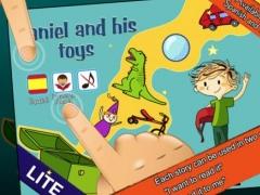 Books for Kids: Daniel and his toys Lite 1.0.2 Screenshot