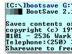 BOOTSave/BOOTRest 2.9 Screenshot