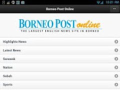 Borneo Post Online 4.5 Screenshot