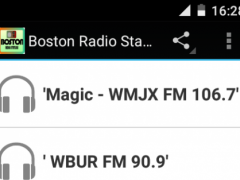 Boston Radio Stations 1.2 Screenshot