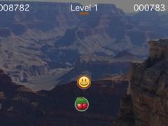 Bounce-ji - free bouncing emoji moving ball angle deflect game 1.4 Screenshot