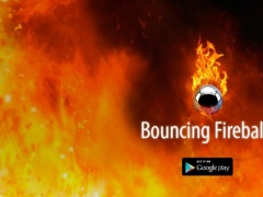 Bouncing Fireball: Bounce 1.0 Screenshot