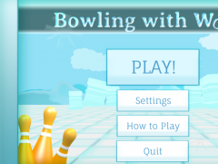 Bowling with Words 1.2 Screenshot