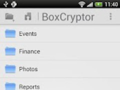 Boxcryptor Classic 1.5.4 Screenshot